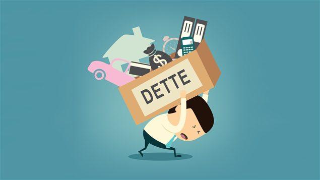 """Personne endettée, représentation de l'article """"Le délai de paiement en cas de dettes"""""""